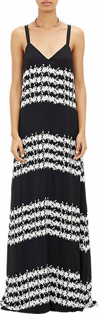 THAKOON ADDITION FLORAL MAXI DRESS US 4