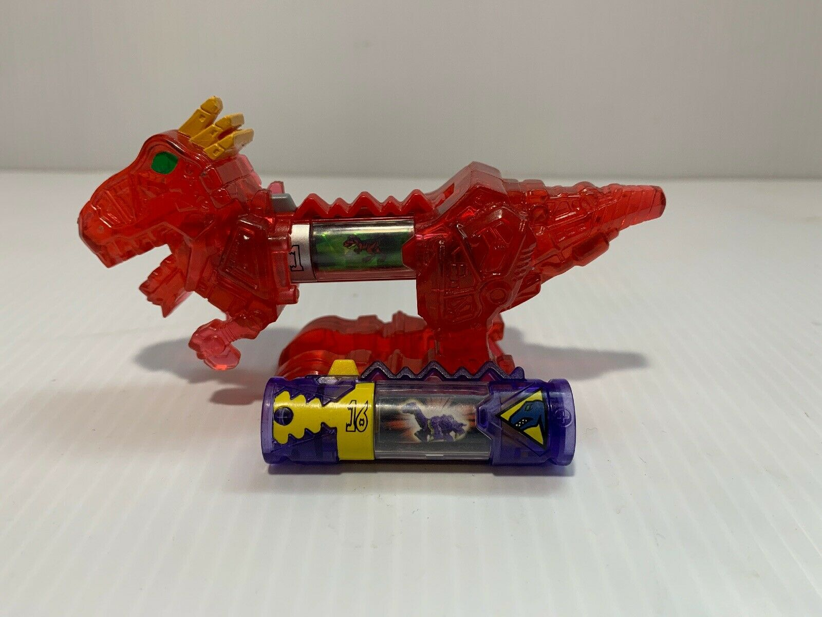 energia Rangers Dino Charge Dino Charger energia Pack rosso TRex 42270 Series 2