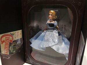 Disney Store Poupée Cendrillon Édition Limitée Premiere Series Limited Doll