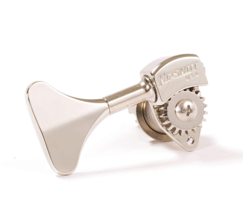 Hipshot Ultralite Usa Sintonizador Sintonizador Sintonizador HB6Y 1 2 Níquel - 4 en línea para zurdos Conjunto de agudos 53f9d5