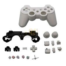 New Full Housing Shell Case Button Kit for Sony PS3 Wireless Controller White CA