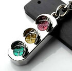 New Mini Traffic Light Car Key Ring Chain Classic 3D Keyfob Keychain Gift LOCA