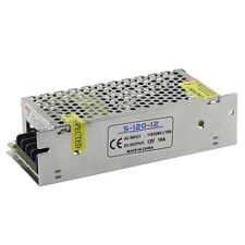 NEW Mini Regulated Switching Power Supply DC 12V 10A 120W For LED Strip Light