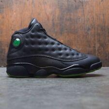 15ae71db5db Nike Air Jordan 13 XIII Retro Altitude Size 9 Black Green 414571-042 ...