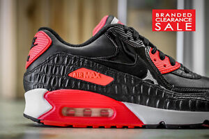 save off 1a6f3 03767 Image is loading BNIB-New-Mens-BLACK-NIKE-AIR-MAX-90-