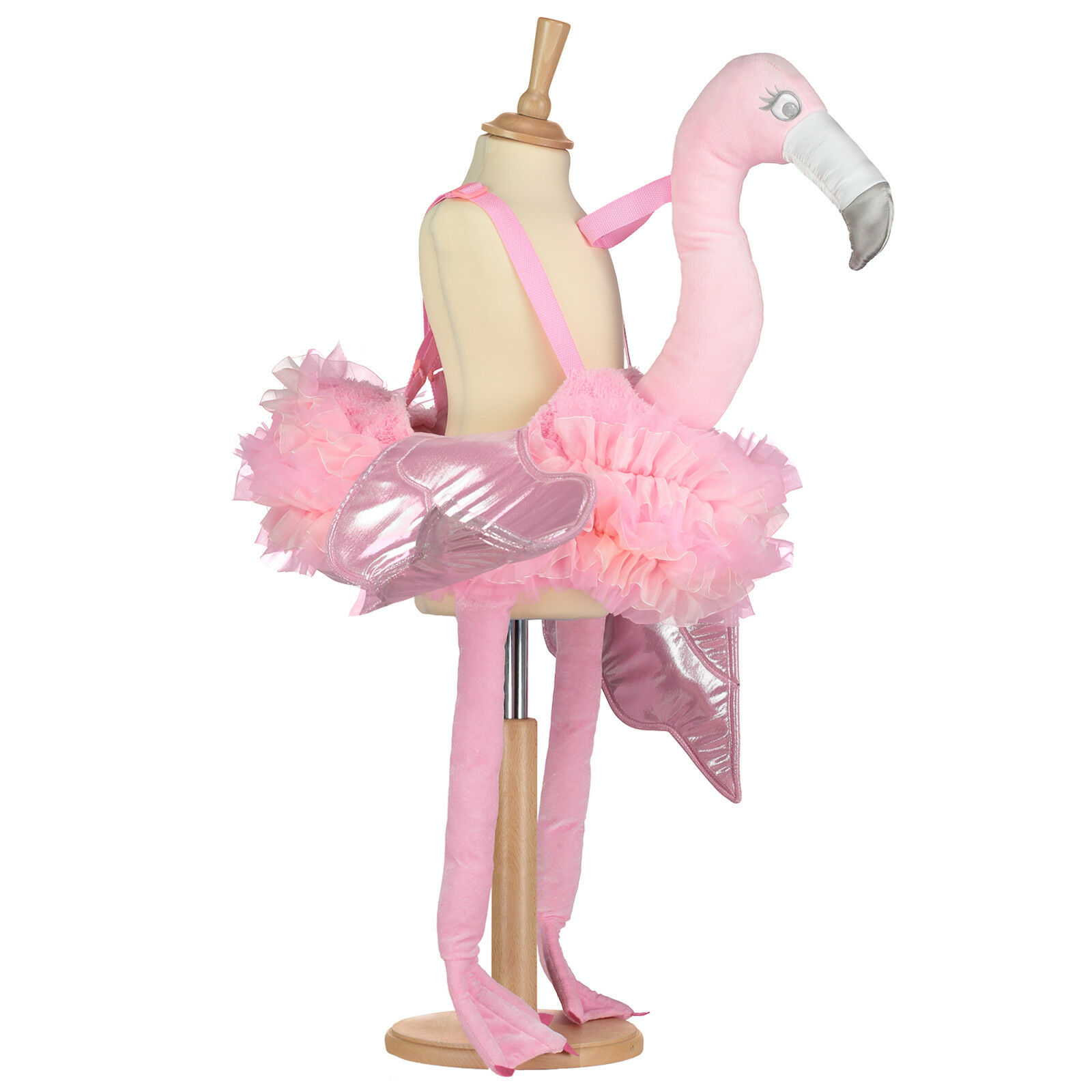 Fabulous Girls Kids Ruffle Ride on Toy Pink Flamingo Dress Up Costume Book Week