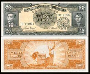 English-Series-20-Pesos-Macapagal-Castillo-Banknote