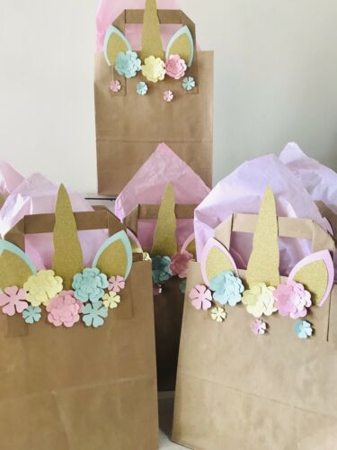 Unicorn Party Pack Unicorn Party Favour Bags,Unicorn Bunting Birthday Party