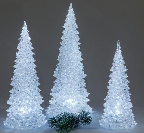 Noël Advent arbre de Noël Sapin Acrylique Pyramide illumine dekobaum