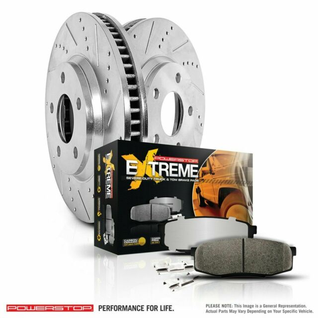 Disc Brake Pad and Rotor Kit Front POWER STOP K137-36 fits 05-18 Toyota Tacoma