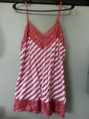 Maurices womens ladies Xlarge tank w/lace cami, st