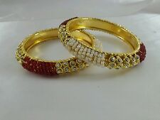 Beautiful Pearl and diamond bangles south Indian style for wedding season