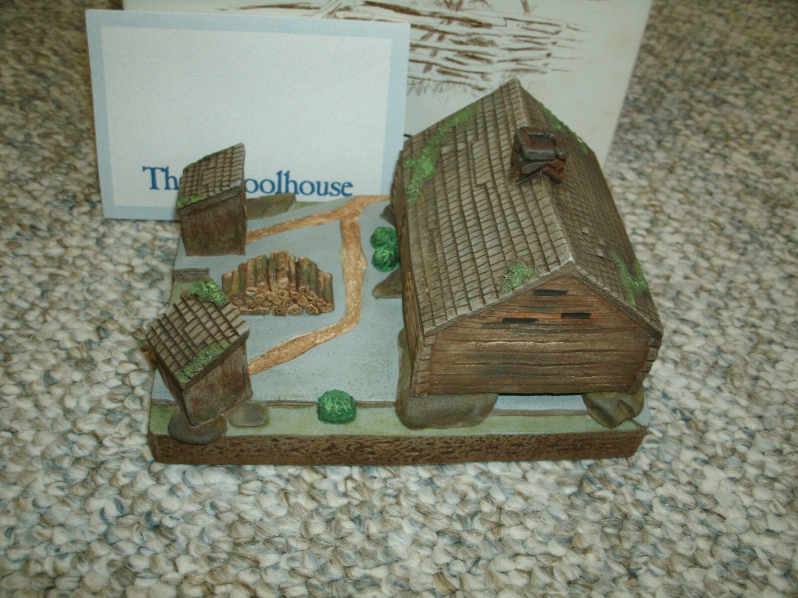 Cades Cove Series - The School House - National Heritage - With Box - Mint