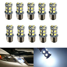 10PCS White 1156 LED RV Camper Trailer 1141 Interior Light Bulbs 5050 13SMD 12V