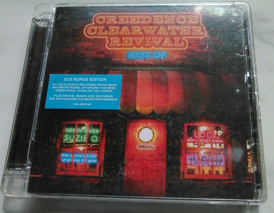 CREEDENCE CLEARWATER REVIVAL: BEST OF (2CD) BEST OF + live