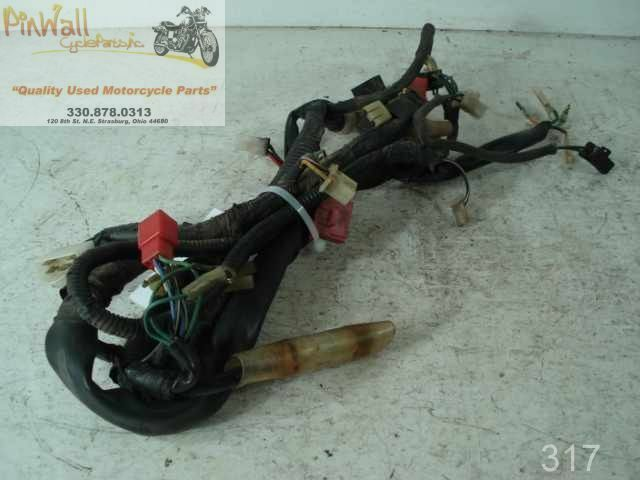 1984 Honda Vf700 Vf700s Sabre Main Wire Wiring Harness on