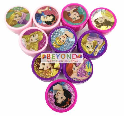 Disney Princess Self Ink Stamps Birthday Party Favors Gift Bag Filler Stamper