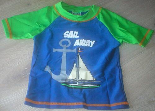 Boys UV 50 Sun Protection Holiday//Summer Swim//TShirt//T-Shirt Age 1 1//2-2 Yrs
