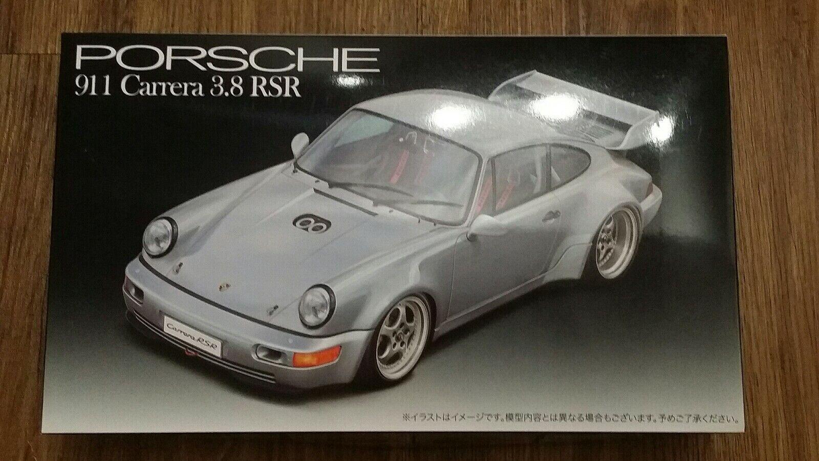 Fujimi - Porsche 911 Carrera 3.8 RSR - 2019 Release - 1 24 Scale Car Model Kit