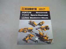 Kubota B6000c L245 L185 L285 Tractors Sales Sheet Free Shipping