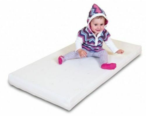 BEST SELLER Fibre mattress with SUPERIOR COOLMAX cover for cot bed 140 70 10 cm