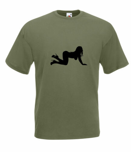 stripper silhouette graphique haute qualité 100/% coton t shirt Femelle danseur