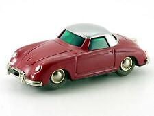 Schuco micro-Racer Porsche 356 rojo-plata # 120