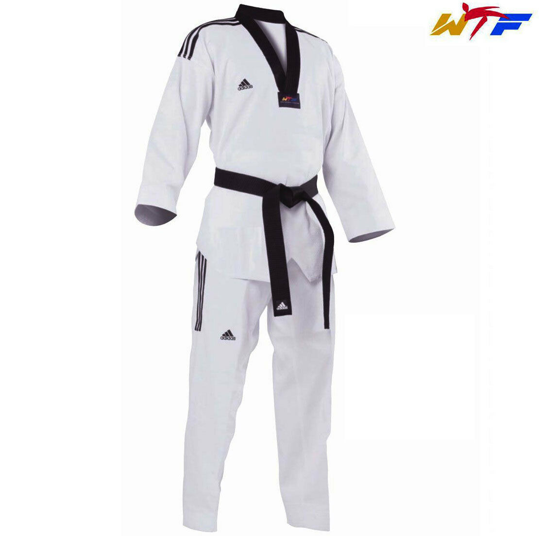 Adidas New 3S Grand Master II Uniform Dobok WTF Taekwondo uniform