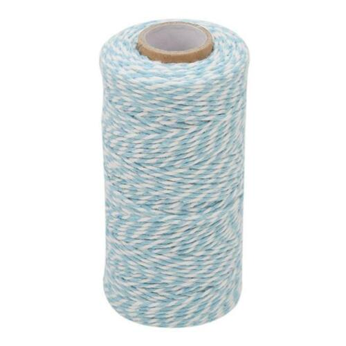 Red Bakers Twine 100 yard spool Thick Cotton String 6Colours DIY Shan