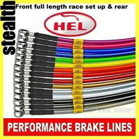 Yamaha YZF-R1 2007-08 HEL Stainless Brake lines / hoses Race set