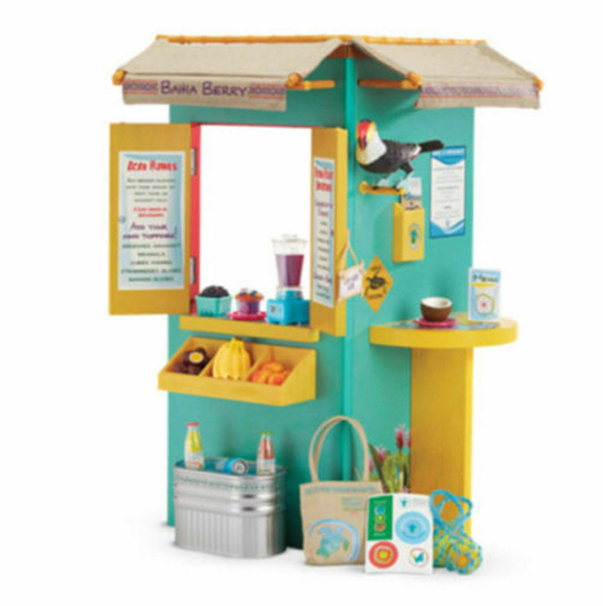 2016 American Girl Doll  Lea's Fruit Stand Playset