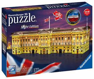 12529-Ravensburger-Buckingham-Palace-Night-Edition-3D-Jigsaw-Puzzle-216-Pieces