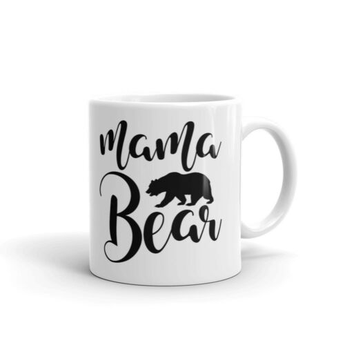 Mama Bear Mother/'s Day Coffee Tea Ceramic Mug Office Work Cup Gift