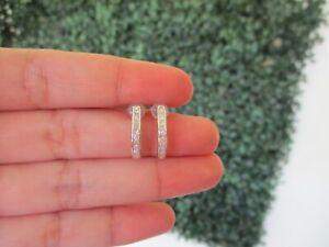 SALE‼️.70 CTW Diamond Earrings 18k White Gold E714W sep