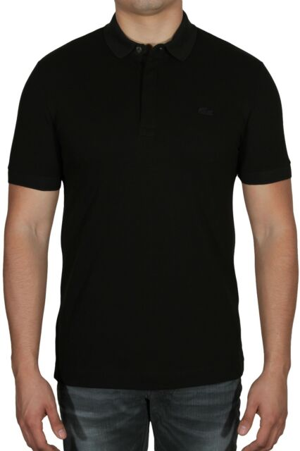 d1dae8a1 Lacoste Men's Paris Edition Regular Fit Polo Shirt Stretch PH5522-51 031  Black