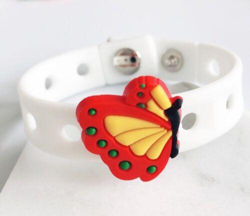 10PCs mixed PVC Butterfly Shoe Charms Fit  DIY Kid/'s hole Cross Shoes,Bracelets