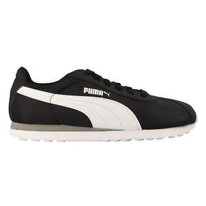 PUMA-TURIN-NL-Zapatillas-casual-retro-running-para-hombre-y-mujer-color-negro