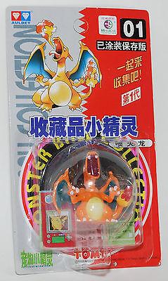 Pokemon Auldey Tomy Mni Pocket Figure Monster 1998 Vinatge rare #01 CHARIZARD
