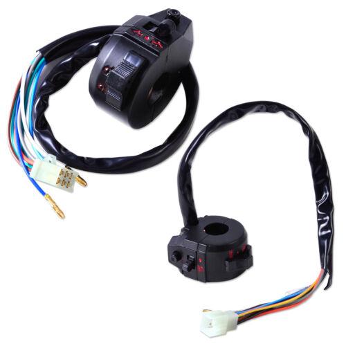 """Neu 2x 7//8/"""" 22mm Blinker Handlebar Switch Lenkerschalter für Motorrad ATV Honda"""
