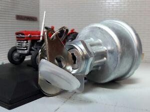 128sa 35670 Diesel Contacteur D'allumage Mf Tracteur 185 188 235 245 250 253 MatéRiaux De Qualité SupéRieure
