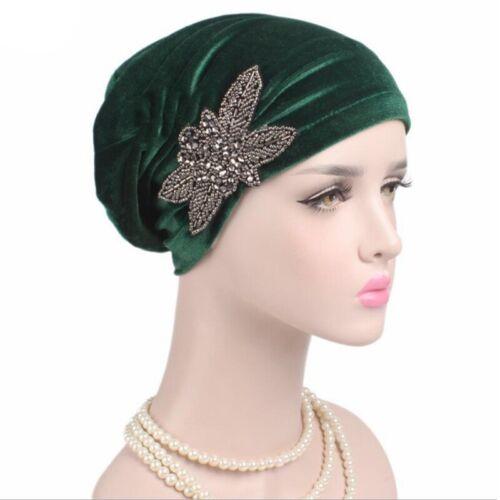 Womens Muslim Hijab Krebs Chemo Hut Turban Cap Cover Haar Kopftuch Wrap Lot Neu