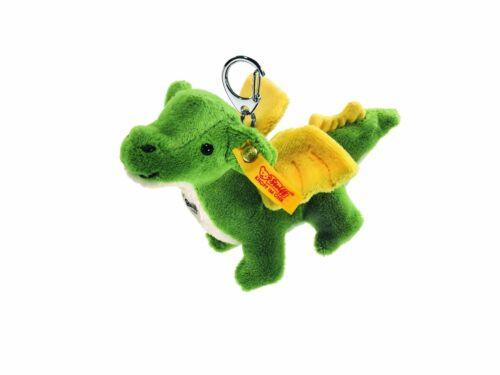STEIFF® 112126  Schlüsselanhänger Drache grün NEU unbespielt RARITÄT
