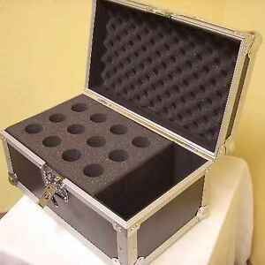 Flightcase-Valigia-Per-Microfoni-Per-12-Microfoni-Case-Per-Microfoni-Micro