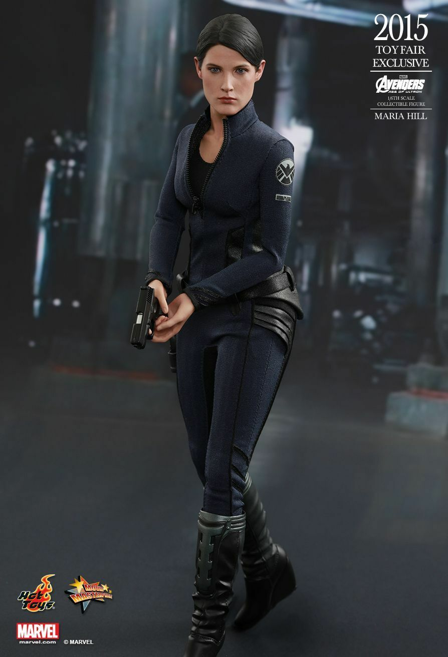 HOT TOYS 1 6 MARVEL AVENGERS Exclusive agent MMS305 Maria Hill Action Figure