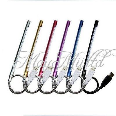 10 LED USB Portable Lamp Light maximum illumination for Laptop Notebook PC E