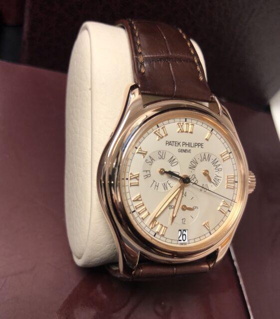 Patek Philippe 5035 Annual Calendar 18K Rose Gold Watch Box/Papers 5035R