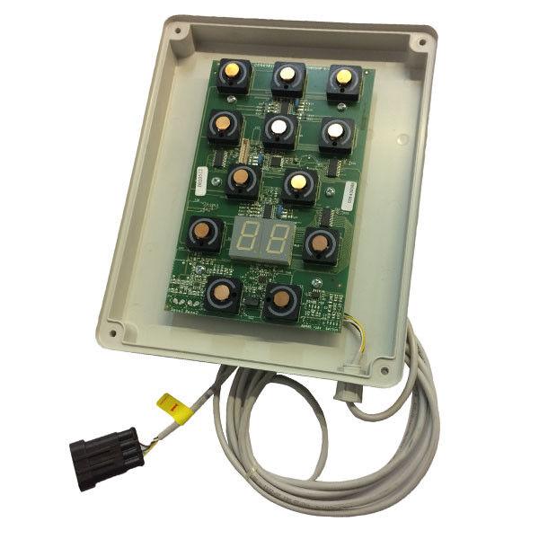 Ersatz Tastatur Elektronik für Duschkabine My Time Albatros F0949011