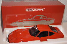 Opel GT/J 1971 rot 1:18 Minichamps neu + OVP 180049028
