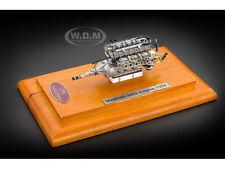 1956 MASERATI 300S ENGINE WITH SHOWCASE 1/18 DIECAST MODEL BY CMC 110