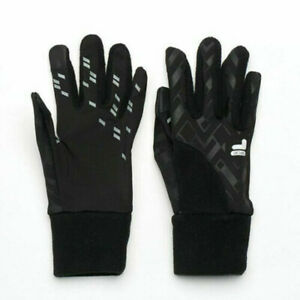 New-FILA-Sports-Womens-Gloves-Geometric-Performance-Size-S-M-Black
